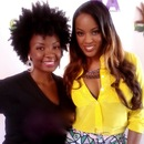 Me and my client Malaysia of VH1's LA Basketball Wives
