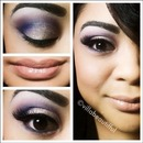 Soft Purple Golden Eye