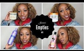 Jasmine's Empties #1
