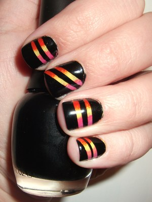 Sunset Strip Nails  http://polishmeplease.wordpress.com (thanks to Lindsey at http://lindseylikesnails.com for the name suggestion!)