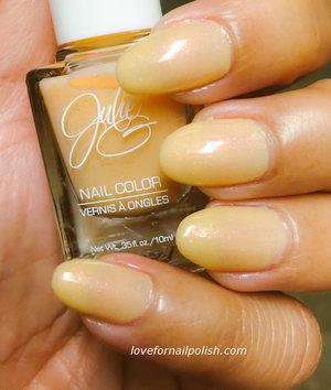 Beautiful Spring color Nail Polish http://lovefornailpolish.com/julie-g-nail-polish-freshly-squeezed
