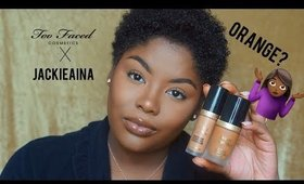 Too Faced x Jackie Aina Born This Way First Impression| Wear Test | ShakirahGlamArtist