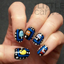 Pac Man Nail Art