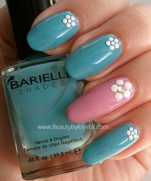 Please Vote for my manicure over at Barielle's Facebook page, 1 like = 1 vote :) http://tinyurl.com/arwnuf2 polishes used: Swizzle Stix and Alli's Lace Cover Up