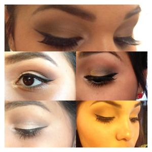 These are all the types of eyeliner looks in wear .. My favorite thing to do is add some eyeshadow and finish it off with some good eye liner 😆😊