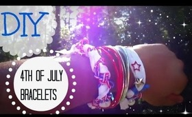 Fourth of July DIY Bracelets