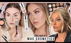 full face using MAC COSMETICS! 💖 Bebe Rexha inspired soft glam makeup!