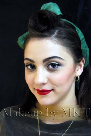 1940/50 makeup My Pinup Girl