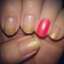 gold gradient / ombré
