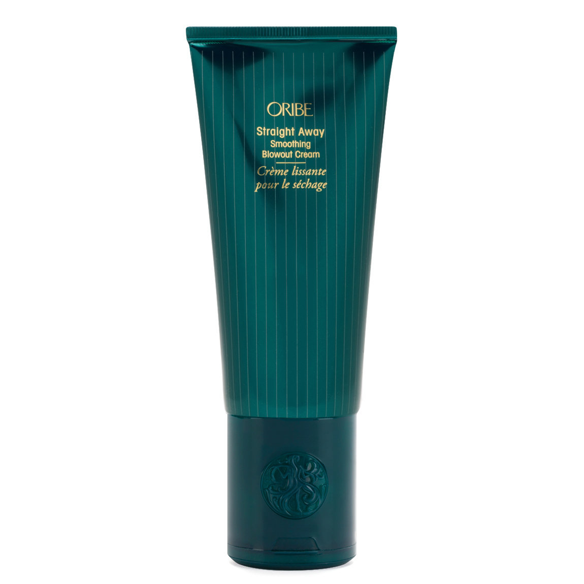 Oribe Straight Away Smoothing Blowout Cream product smear.