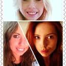 Blond to brown to red<3