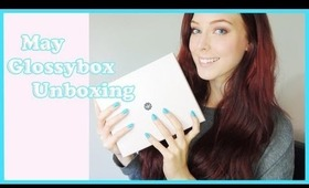 Unboxing  my Glossybox - May 2013