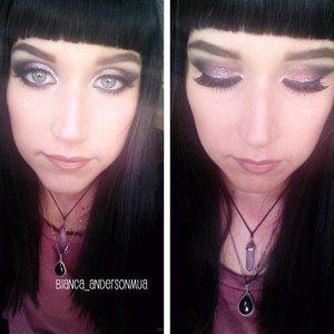 Lime Crime Zodiac Glitter in Libra Anastasia Maya Mia pallete Mac Velvet Teddy lipstick.