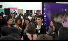 Kandee Johnson Personal Appearance in Urban Decay Booth at IMATS 2010