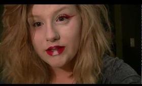 Modern Geisha Halloween Makeup Tutorial