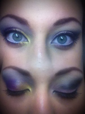 One of my first times using other colors besides brown lol