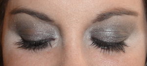 Smoky Silver Makeup of the Day