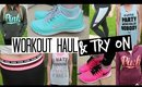 Workout Haul & Try On  - Victoria's Secret & Nike