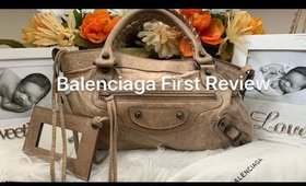 Balenciaga First Review -What's in my Bag