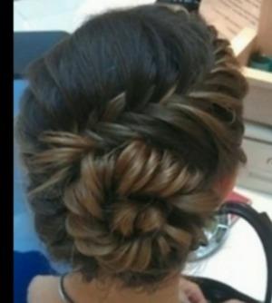 Magnificent Rose Bud Braids Hair Tutorial Braided Buns Summer Hairstyles Short Hairstyles Gunalazisus