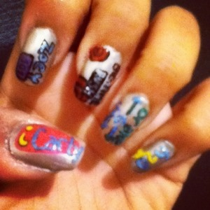 iCarly, Zoey 101, Big time rush, Drake & Josh, and h2o (: Like & Comment? <3