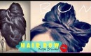 ★HOW TO HAIR BOW TUTORIAL |UPSIDE DOWN FRENCH ROPE BRAID BUN UPDOS HAIRSTYLES FOR MEDIUM LONG HAIR
