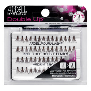 Double Up Individuals Knot-Free Lashes Medium Brown