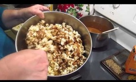 9th Day of Brooke: Homemade Caramel Corn