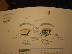I thought it would be a soft look :) The one in the left corner is a polka dot look  Feel free to recreate