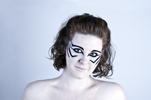 Model: Kathryn Jesse Photographer & Make-Up: Simone Kelly  © Simone Kelly, 2012 Moral Rights Asserted.