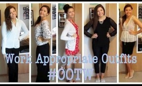 OOTW: Work Appropriate Outfits #2