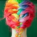 Rainbow French Baid!