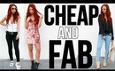 HOW TO SHOP CHEAP & LOOK STYLISH!