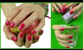 16 Essential Tips to Healthy & Beautiful Nails! How To Manicure & Nail Care + Flower Nail Art