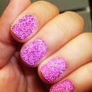 """Pink """"Caviar"""" Nails"""