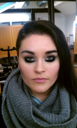 """""""The Makeup Insider Look""""  More about this: http://www.makeupinsider.net/2012/03/undereye-smokey-look.html"""