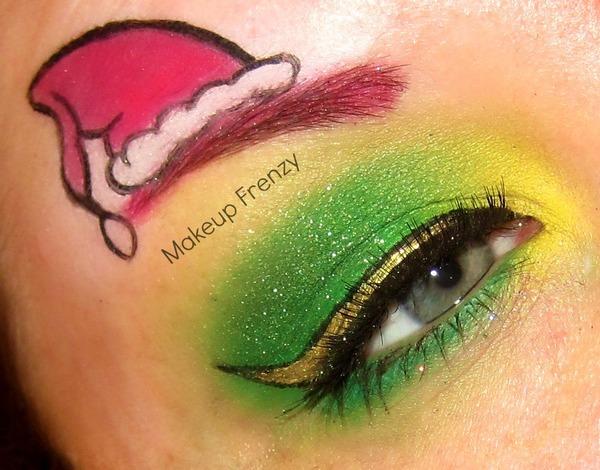 The Grinch Inspired Nikki K S Makeupfrenzy Photo