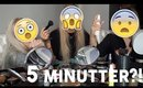 5 MINUTE MAKEUP CHALLENGE! 😱⏱ FAIL!