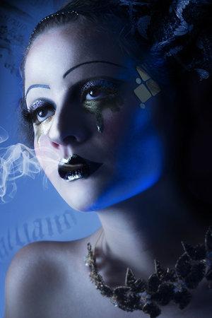 Photographer: Sebastian Zea  Model: Sara Botero / AE Models Styling: Andrés Escobar using Zawadzky  KEY Makeup Artist: Lina Toro (Sweetpea & Fay PROMUA/ Brand Ambassador PAI PAI/ COKETA PROMUA). MUA Assistant & Hairstyle: Juliana Bravo Lighting: Juan Cadavid
