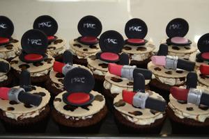 Cupcakes I had made for all my lovely clients :-)  It's All About the Cake