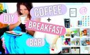 DIY Breakfast Bar/ Coffee Station FOR YOUR ROOM!!!