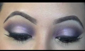Tutorial: Sultry Purple Smokey Eyes