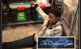 The Organizer Genie vs Kim Greene's Makeup Storage room!