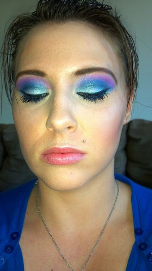 Purple, Pink, and Blue :)