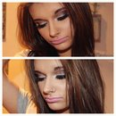 Check out my makeup tutorial on this look!