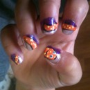 Baby Sisters Octopus Nails!