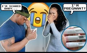 I'M PREGNANT CHEATING PRANK ON BOYFRIEND (HE GETS EMOTIONAL) 💔