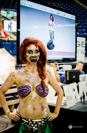 Zombie Ariel Comiconn 2014 
