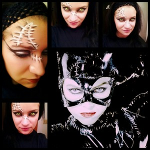 Friend Request Week - had my friends post what look they want me to do and the 1st was catwoman!