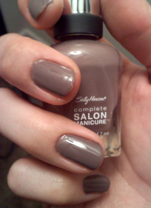 "Sally Hansen Complete Salon Manicure - ""Commander in Chic"""